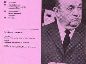 Michel Suffran - Lewis et Alice ou la vie secrète de Lewis Caroll in L'Avant-Scène n°616 du 15 octobre 1977