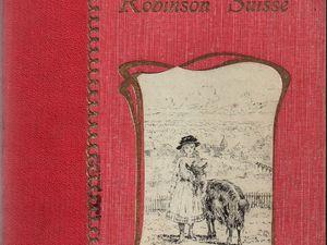 """Johann David Wyss """"Le Robinson Suisse"""" (Société Française d'Imprimerie et de Librairie - s.d.)"""
