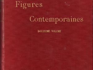 Octave Uzanne – Les « Figures Contemporaines » à la Bibliothèque Nationale in Album Mariani T. XII (1910)