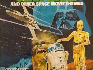 Geoff Love and his Orchestra - Star Wars and other Space movie themes LP (Music For Pleasure - 1977)