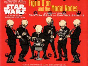 Figrin D'An and The Modal Nodes - Cantina Band / Cantina Band #2 mCD (BMG - 1997)