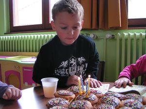 Nicolas a 4 ans!