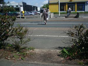 Blois - devant la poste rue Michel Bégon