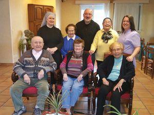 groupes Personnes âgées et Prêtres