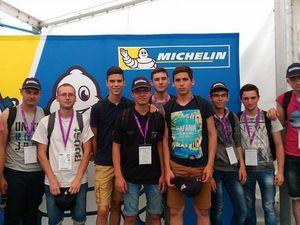 Les apprentis mécaniciens au 24h du Mans