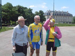 Avec la remise de la coupe au plus âgé, Claude, 85 ans.