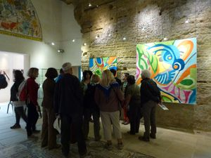 Visite de l'exposition Quilts USA
