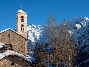 Le village de Saint-Véran en Hautes-Alpes