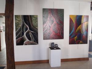 Gilles PERE Peintre et Michèle DUBEE sculpteur