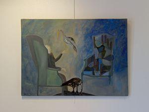 Entre rève et réalité, peintures d' ALISSA GRÜN