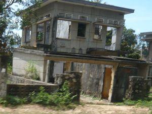 Les ruines de Kep