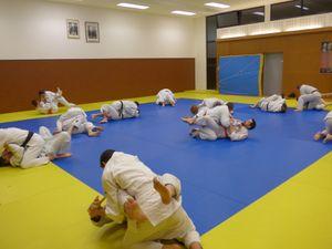 Second entrainement Jujitsu de la saison 2016-2017
