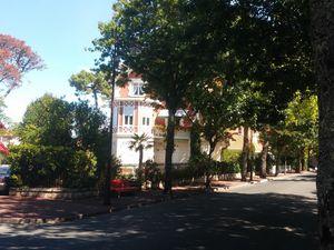 Villa dans la ville d'hiver d'Arcachon qui se trouve sur la hauteur par rapport à la ville d'été