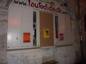Attaque fasciste à Besançon