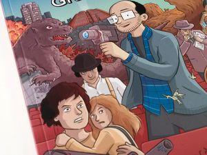 Le cinéma en bande dessinée