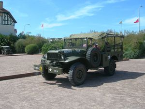 Un Dodge en Normandie