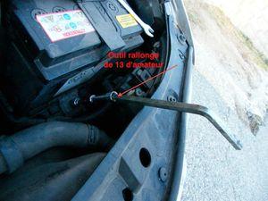 Changer sa batterie sur Audi A3 8L