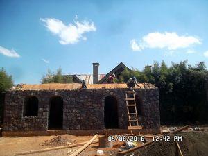 Fermeture du toit voûte