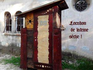 Toilette sec