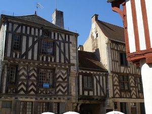 Carte postale de Bourgogne : Noyers sur Serein