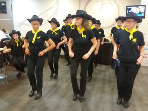 SCHERZO COUNTRY DANCERS : ANIMATION FLUNCH 2016