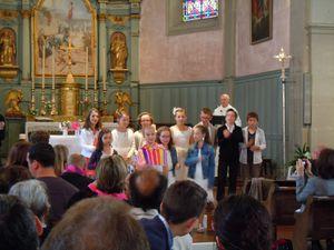 Première communion à Beure