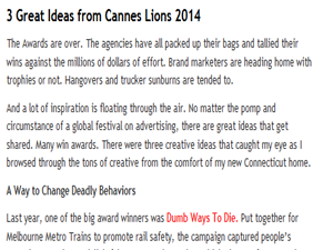 Buzz Story: Cannes Lions Festival (edizione 2014)