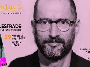 Deux événements à Angers autour de Didier Lestrade, co-fondateur d'Act Up Paris.