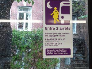 La culture c'est CHER ! Merdouille Sarko est arrivé jusqu'à Montréal...J'ai pensé à mes copines de sport dans le métro grâce à la pub pour les pages jaunes ! Dans le bus, tu peux aussi être une fille, on fait attention à toi !