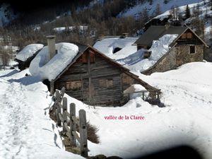 Dans la vallée de la Clarée