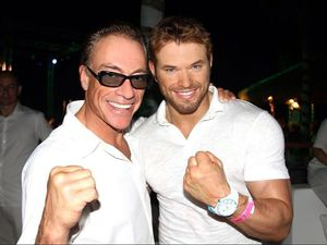 Kellan Lutz : Nikki Beach Grand Opening White Party