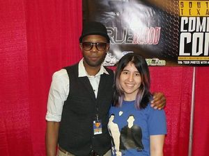 Texas Comic Con avec Nelsan Ellis