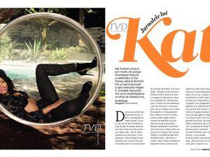 Kat Graham pour Cosmopolitan