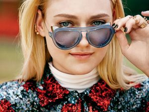 Lucky Magazine : Dakota Fanning