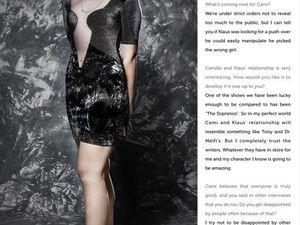 Leah Pipes pour Glamoholic Magazine