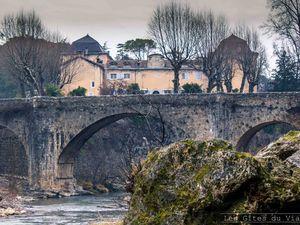 Saint-Laurent-le-Minier et sa cascade