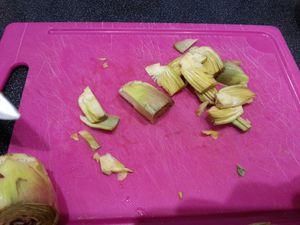 La découpe des artichauts - Angel's Kitchen