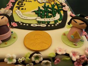 Gâteau Judo - Angel's Kitchen