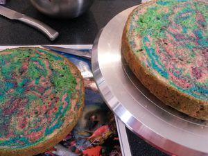 Gâteau Psychédélique - Angel's Kitchen