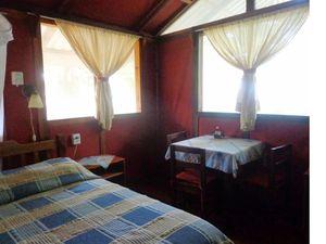 Le bungalow est perché comme une cabane dans les arbres.