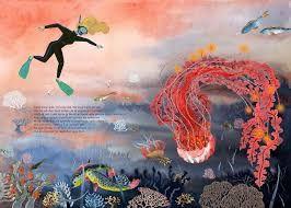 Je suis la méduse, Béatrice Fontanel, illustrations d'Alexandra Huard, éditions Les Fourmis rouges, à partir de 5 ans.