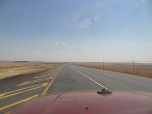 Retour de Hlane Park (Swaziland) à Joburg