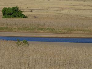 Etape à Tussen-die-riviere, parc naturel dans le grand nulle part Sud africain