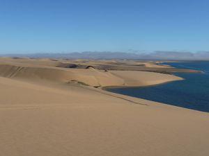 la piste est plus roulante, il n'y a plus que de longues dunes à monter en 4° (courte)....et quelques raidillons piégeux
