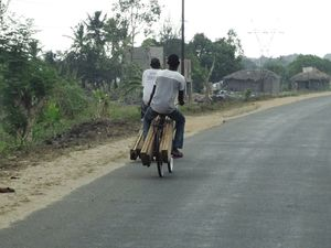 African bicycle story