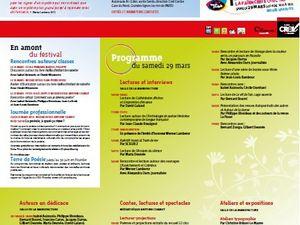 Bientôt : 3e festival de poésie de Creil