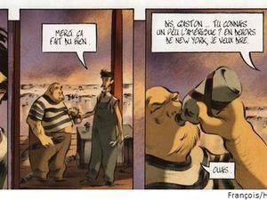 BD : Un homme de joie de David François et Régis Hautière