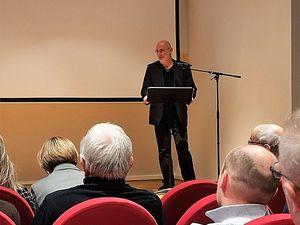 Histoire et littérature : Pierre Bergounioux à l'Historial de la Grande Guerre de Péronne