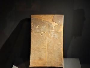 Louvre-Lens : L'écriture commence en Mésopotamie