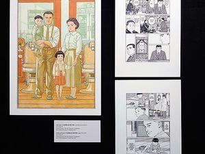 Hommage à Jirô Taniguchi au Salon Livre Paris